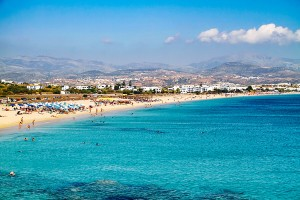 agios prokopios beach naxos