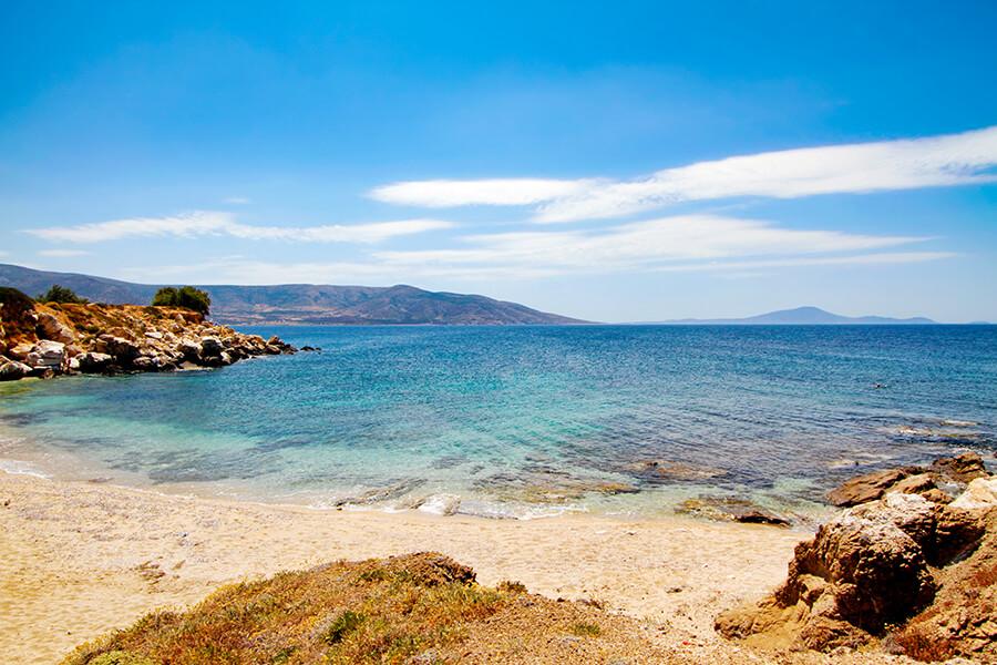 aliko beach naxos