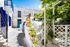 chora naxos neighborhood