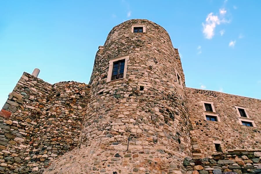 castle of naxos