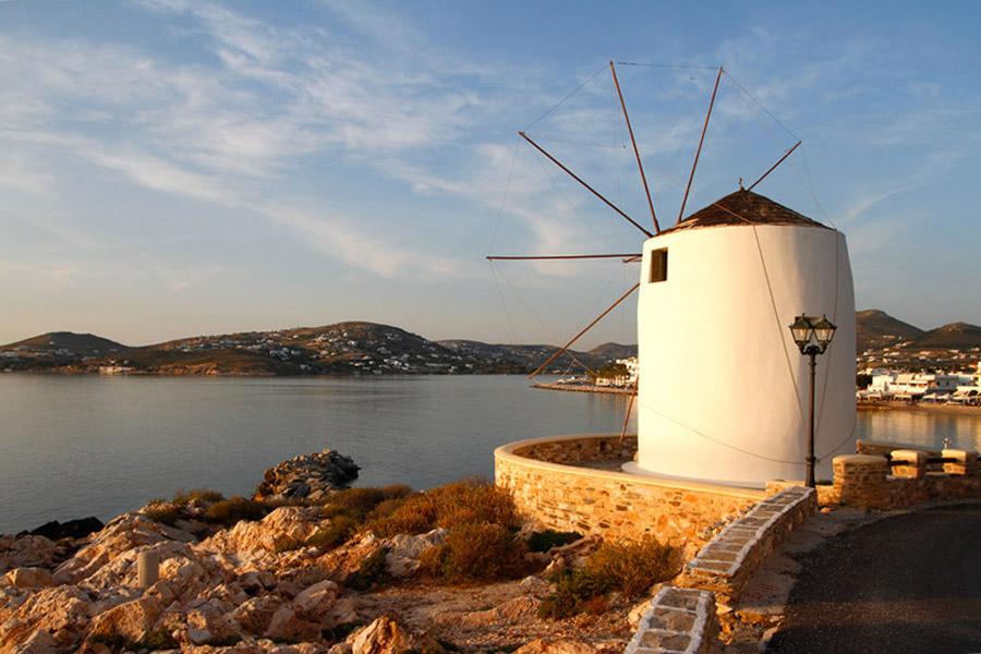 windmill parikia paros